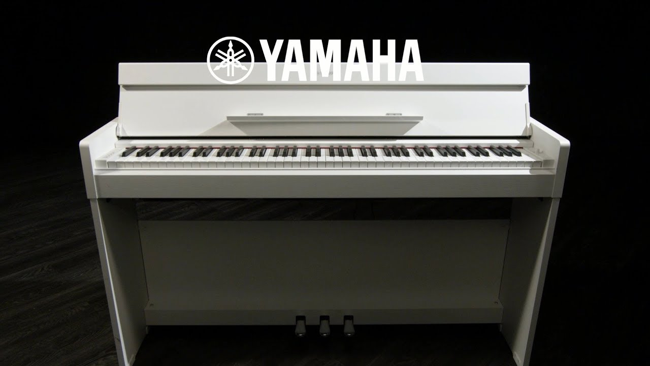 yamaha ydp s34 digital piano white gear4music demo youtube. Black Bedroom Furniture Sets. Home Design Ideas