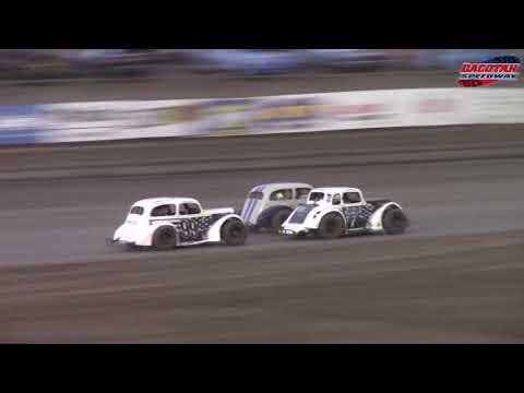 Dacotah Speedway INEX Legends A-Main (8/24/18)