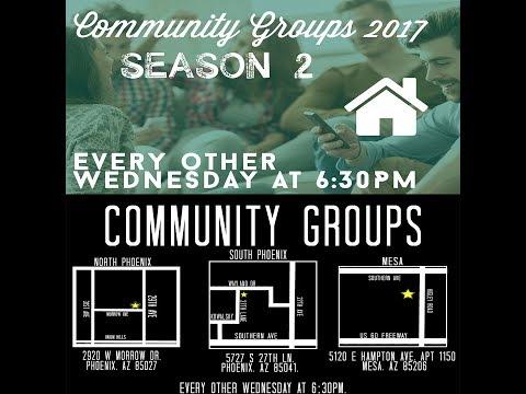 Community Group Season 2 Week 1