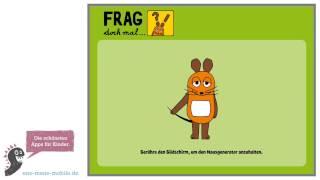 """Tolle quiz-spiele-app für kinder: """"frag doch mal die maus"""" – wir haben sie getestet! 💙👉 app download für's ipad & iphone: https://itunes.apple.com/de/app/f..."""