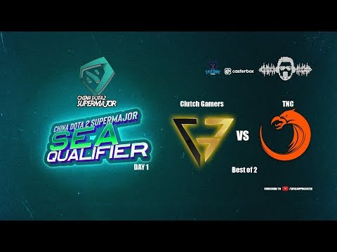 [DOTA 2 PH LIVE]  Fnatic VS Clutch Gamers |Bo2| China Dota2 Supermajor 2018 - Regional Qualifiers