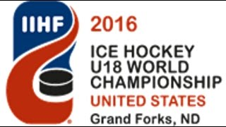 Canada vs  Sweden SF   2016 IIHF Ice Hockey U18 World Championship