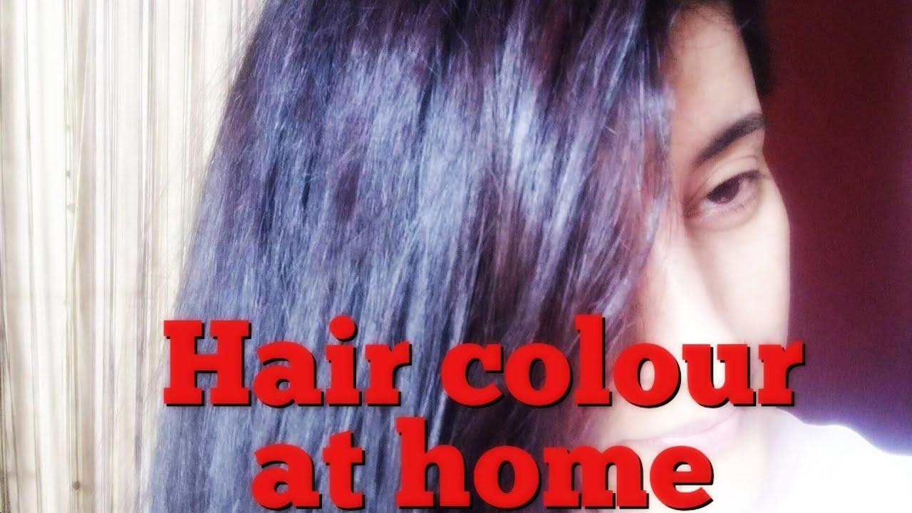 Revlon Colorsilk Deep Burgundy 3db Review How To Apply Colour Youtube