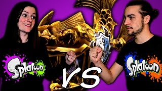 GUILLAUME VS KIM | SPLATOON 1vs1 en MISSION BAZOOKARPE EPISODE 159 Wii U FR