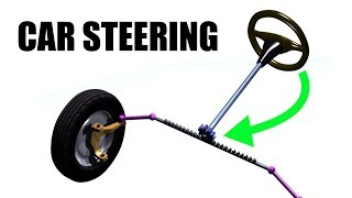 Car Steering - Rack and Pinion - Explained