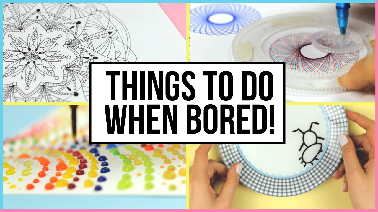 Oddly Satisfying Things To Do When You Are Bored At Home! | What To ...