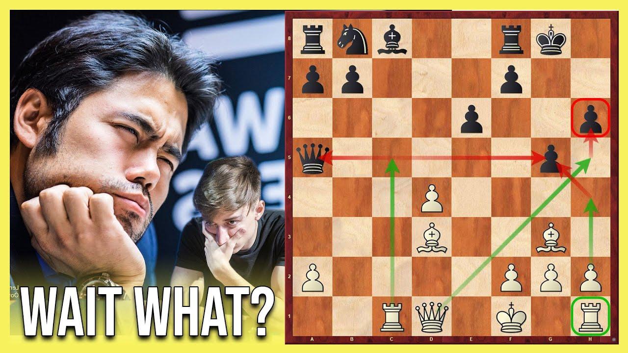 Kann man gegen HIKARU NAKAMURA in 17 Zügen gewinnen? | Dubov vs Nakamura - Magnus Carlsen Chess Tour
