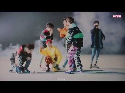 GOT7 TURN UP BEHIND THE SCENE(THROWING BOTTLE)
