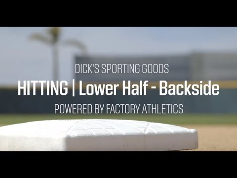 Baseball Batting Tips - How To Control Your Lower Half And Backside | Pro Tips By DICK'S