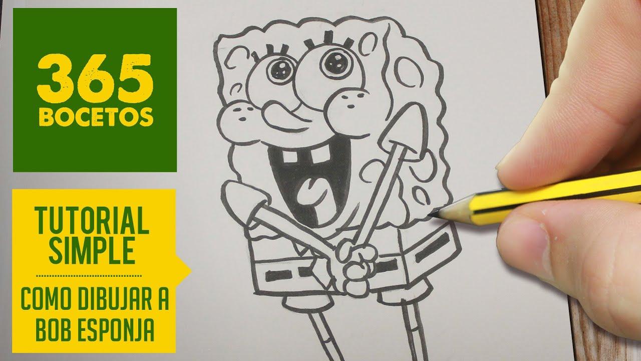 Bob Esponja Sonriente: Bob Esponja Dibujos. Gallery Of Dibujo De Bob Esponja La