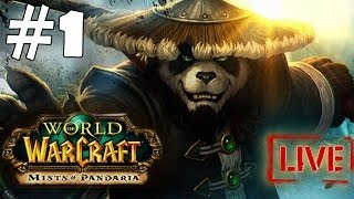 World of Warcraft Mist of Pandaria Walkthrough Part 1 Gameplay Let