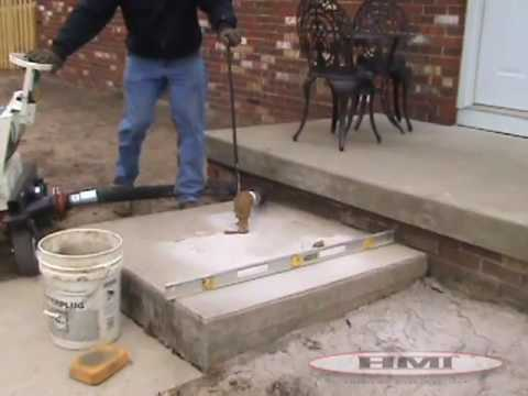 Hmi Concrete Lifting Demonstration Youtube