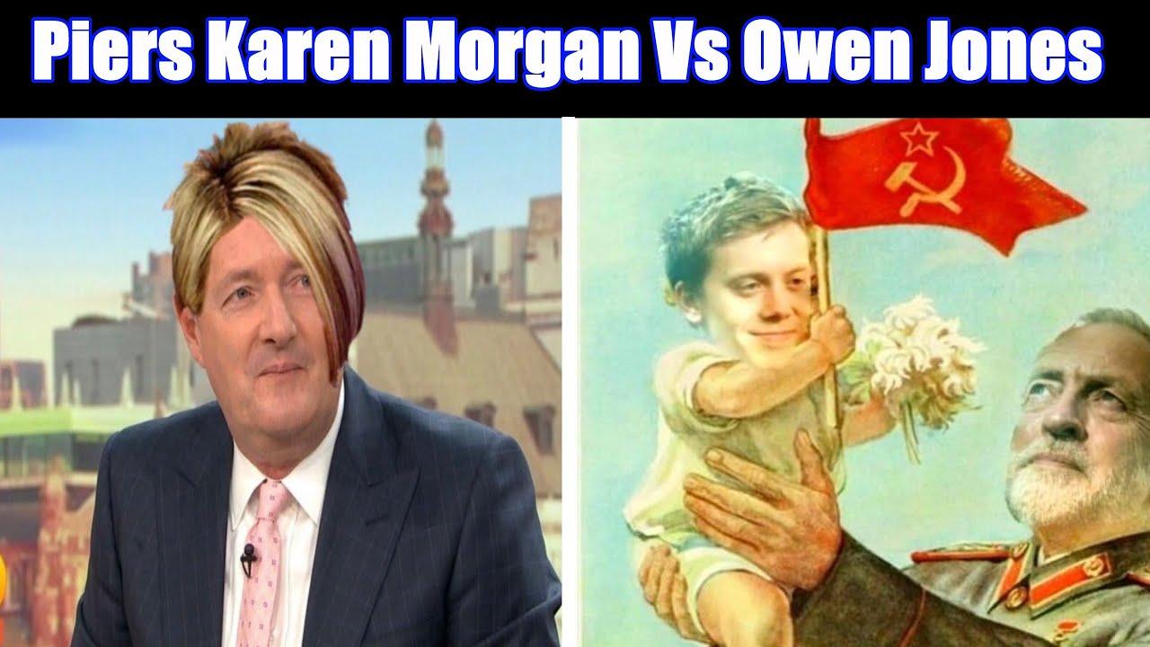Hypocrite Piers Morgan Takes Down Corbynista Owen Jones During Cancel Culture Debate