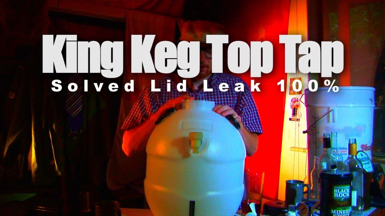 king keg top tap instructions