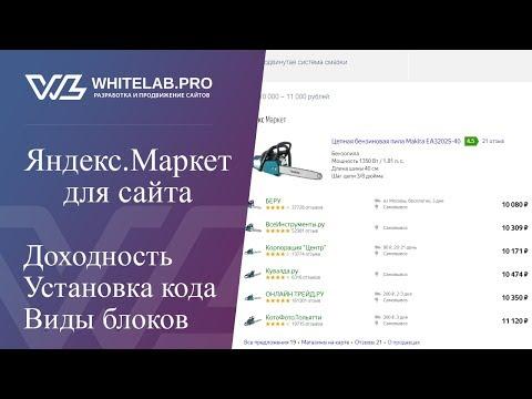 Как заработать на Яндекс.Маркет: доходность, установка кода на сайт