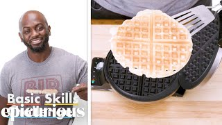 50 People Try To Make Waffles | Epicurious