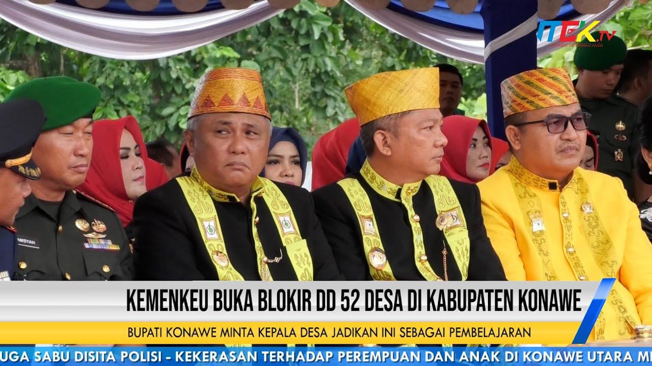 Kemenkeu Buka Blokir DD 52 Desa di Kabupaten Konawe