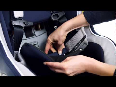 NextFit Zip User Guide : Removing the Comfort Flex Pads - YouTube