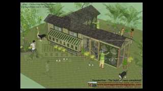 M202 - Chicken Coop Plans Construction - Chicken Coop Design - How To Build A Chicken Coop