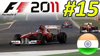 F1 2011 Career Mode Part 15: Indian Grand Prix