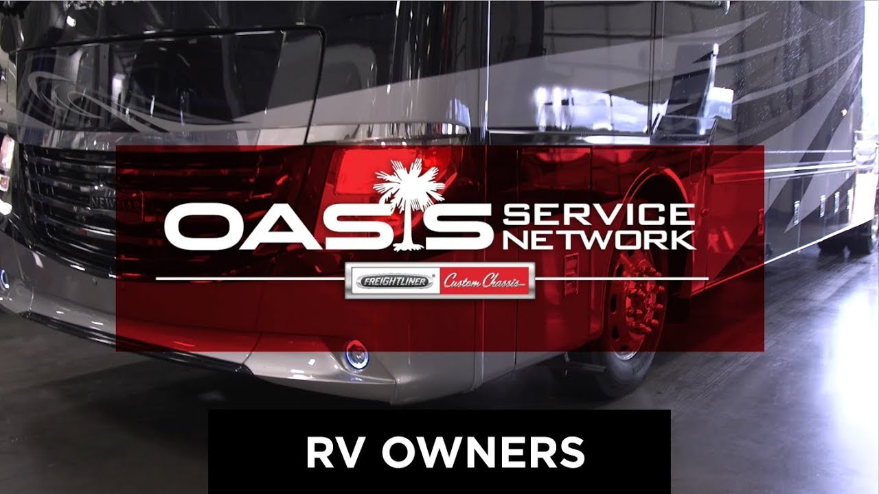 Oasis RV Service Network | Freightliner Chassis RV