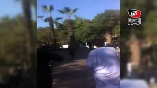 المصري اليوم | شاهد.. اللقطات الأولي من موقع انفجار شارع الهرم