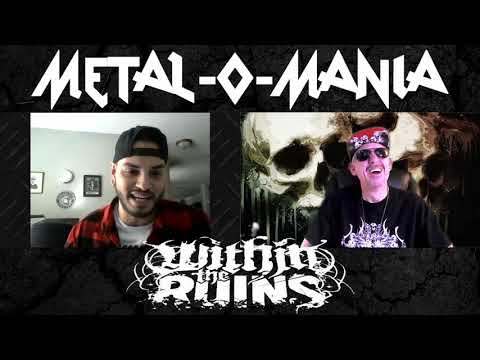 Steve Tinnon from  Within The Ruins discusses their brand new release Black Heart with The Crypt