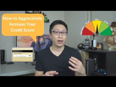 How to Dramatically Increase Your Credit Score (Short Term Strategy)