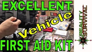 A Great First Aid Kit For Your Vehicle! The Basic Response First Aid Kit By Skinny Medic