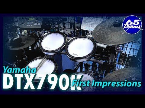 Yamaha DTX790k First Impressions