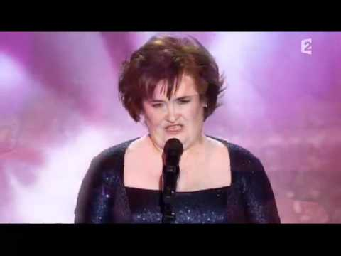 SUSAN BOYLE - CRY ME A RIVER ( PERFOMACE FRANCE)