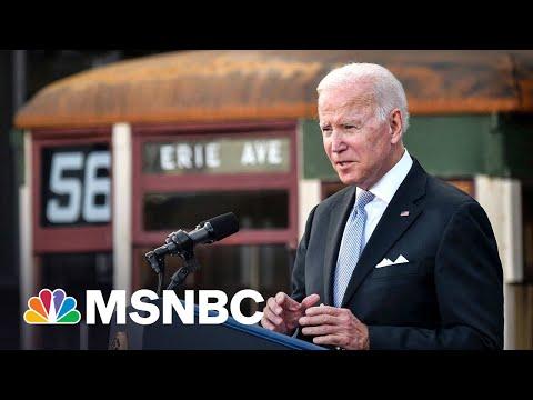 Senate Democrats 'Deep In Negotiations' To Pass Biden's Infrastructure Plan