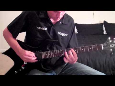 Mat Graham - Guitar Solo Showdown Entry (Staind -