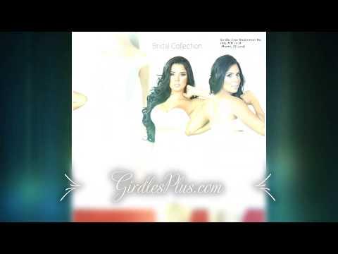 Wedding Dress Girdle, bridal underwear for wedding dress, black shapewear under wedding dress. http://bit.ly/2kDkoeD