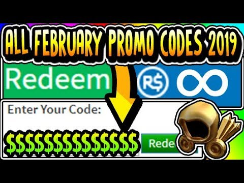 Roblox Promo Codes 2019 Not Expired February All Working Free February 2019 Roblox Promo Codes Not Expired Youtube