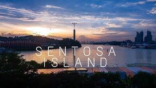Exploring Singapore's Sentosa Island || Sentosa Island Singapore Travel Vlog
