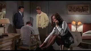 Repeat youtube video Pantyhose feet - gorgeous young Jacqueline Bisset in The First Time (1969)