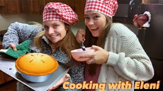 Cooking with Eleni: Thanksgiving Edition (ft. Claire Nickell)