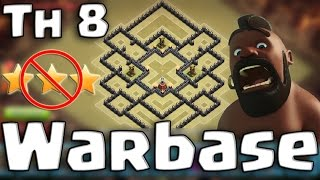 Clash of Clans - Th 8 | Anti-Dragloon | Anti-Gowipe | Anti-Hog | Anti-3 star | Warbase (Speed build)