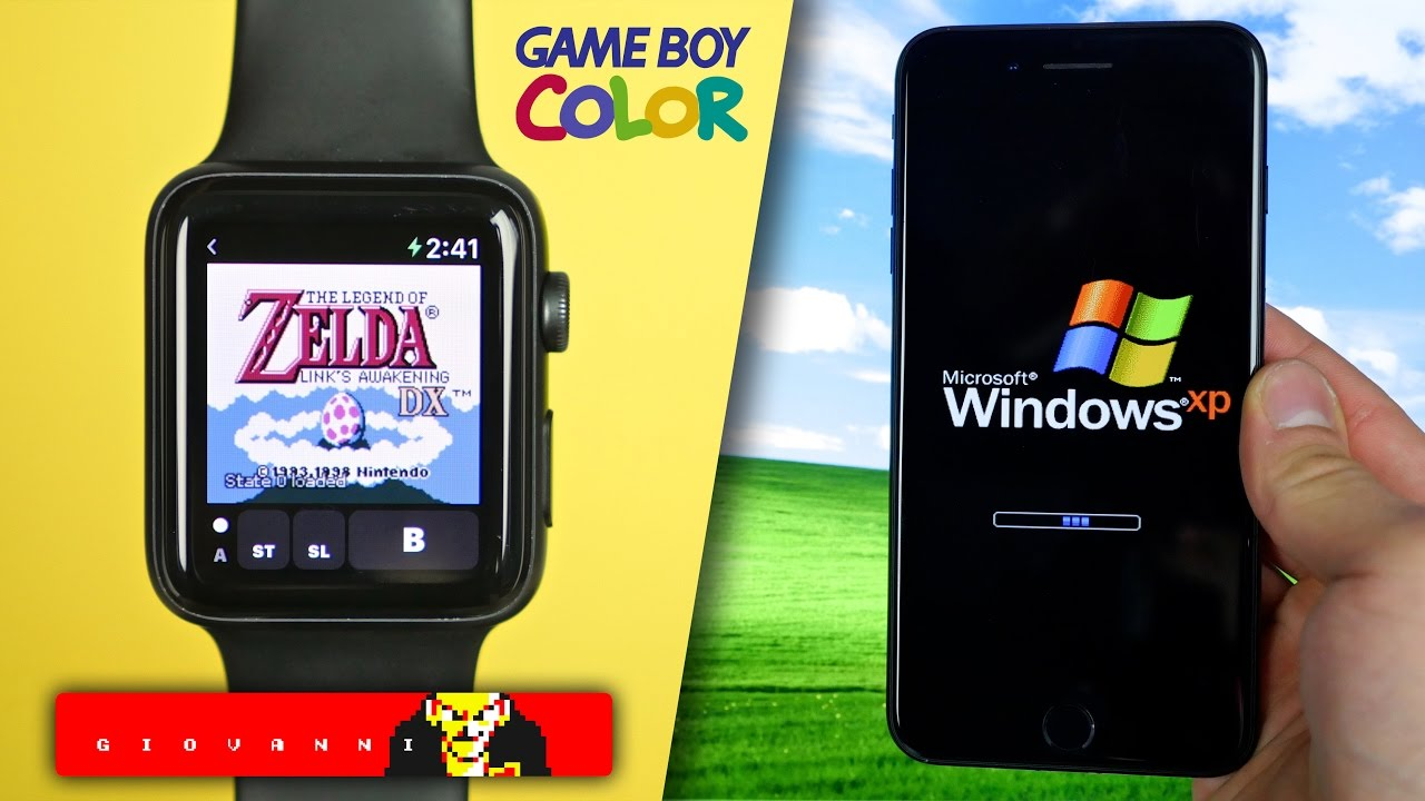 Gameboy color emulator windows phone - Game Boy Color On Apple Watch Windows Xp On Iphone More Apple News
