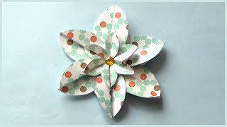 DIY Beautiful Paper Flower | Simple Easy Paper Crafts