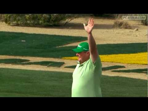 No. 9 Shot of 2011 -- Jarrod Lyle at WM Phoenix Open