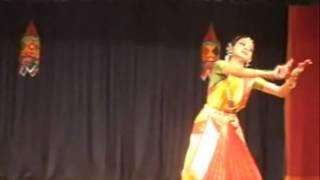 Bharatanatyam Performance- Swathi Thirunal Dwijavanti Padam  Kanya Manoj