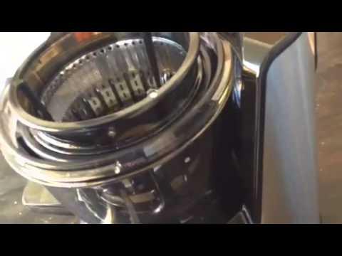 Girmi Slow Juicer Istruzioni : Montaggio slow juicer - YouTube