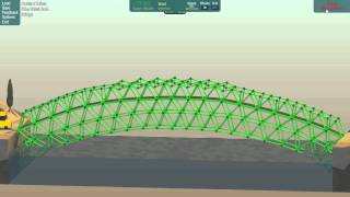 Poly Bridge Ep 12 [36m Steel arch Bridge Challenge]