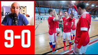 Россия Египет 9 0 Анализ Розыгрыша Аута в атаке Чемпионат Мира Литва Мини футбол тактика