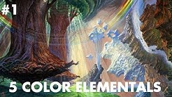 5 Color Elementals in Modern! Deck Tech and League #1