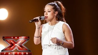 Kerrianne Covell sings Sara Bareille's Gravity   Boot Camp   The X Factor UK 2014