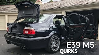 The Many Quirks of the BMW E39 M5