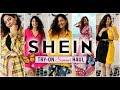 Try-On SHEIN SUMMER HAUL (It's pretty huge!) | StyleMeUpWithSakshi
